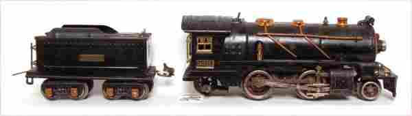196: Lionel prewar 262E steam engine and tender
