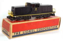 204: Lionel 628 Northern Pacific center cab, OB