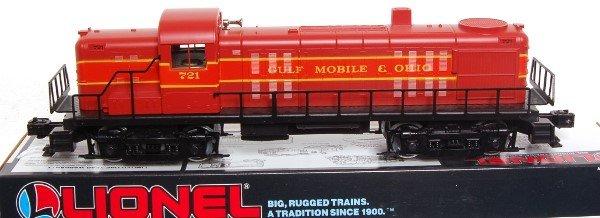 1: Lionel 18554 Gulf Mobile Ohio RS-3 Diesel