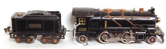 2: Lionel prewar 262 steam loco and 262T