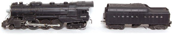 4: Lionel 2046 Hudson with 2046W tender