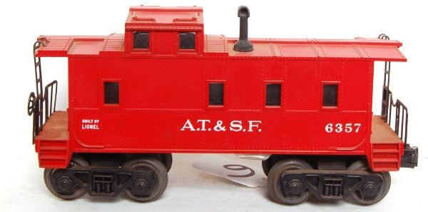 6: Lionel 6357 ATSF caboose for the father and son