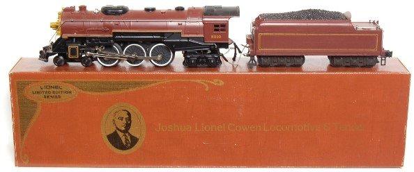 9: Lionel 8210 Joshua Lionel Cowen Steam, Tender
