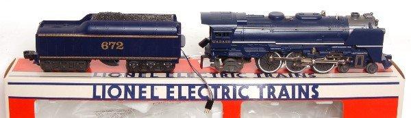 11: Lionel 8610 Fallen Flags Wabash 4-6-2 Steam