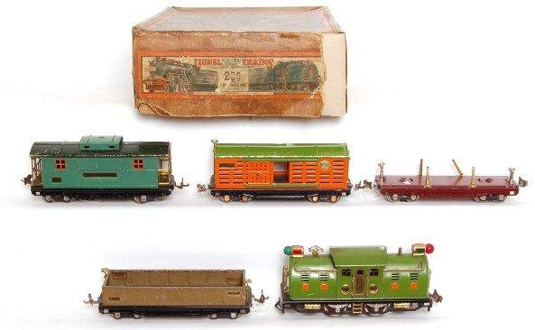 16: Lionel prewar 299 boxed set with 254 loco