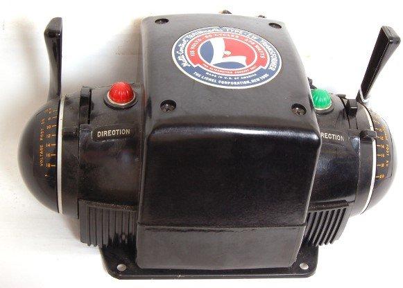 24: Lionel 275 watt ZW transformer