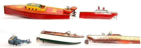 173: Lindstrom Speedboat W/ outboard Aquasonic +more