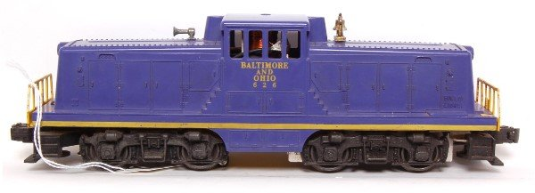 803: Lionel 626 Baltimore and Ohio center cab