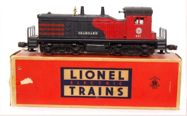 811: Lionel 601 Seaboard switcher in OB