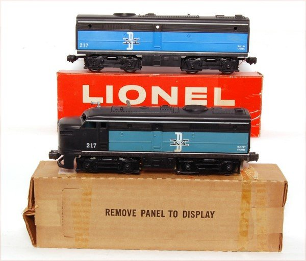 813: Lionel 217 Boston and Maine Alco units