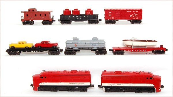 815: Lionel boxed 1599 set with 210 Texas Special