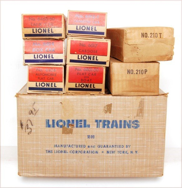 815: Lionel boxed 1599 set with 210 Texas Special - 3
