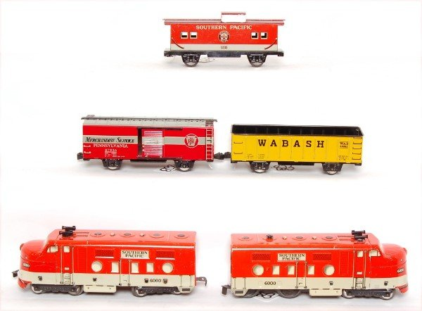823: Marx boxed 9522 with Seaboard set