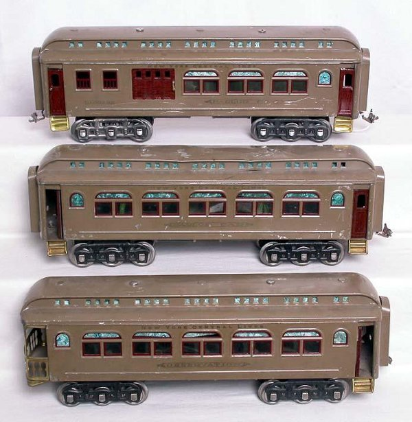 2: Lionel prewar standard gauge 418, 419 and 490