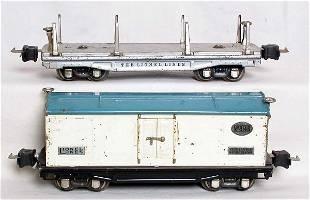 Lionel prewar 814R and 811 in silver