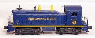 lionel 624 Chesapeake and Ohio switch engine