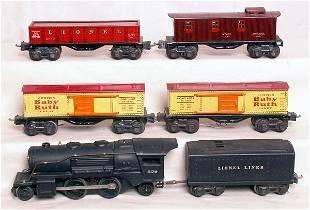 Lionel prewar 0 gauge 258 train set