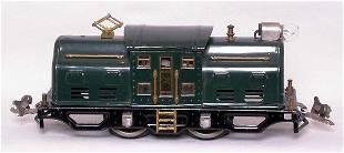 Lionel prewar 250 dark green locomotive