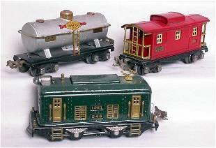 Lionel prewar 248, 654 and a 657
