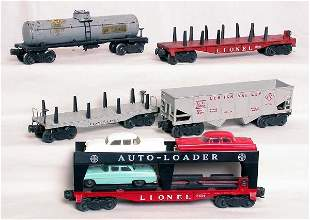 Lionel 2855, 6414,6456, 6511 and 2411