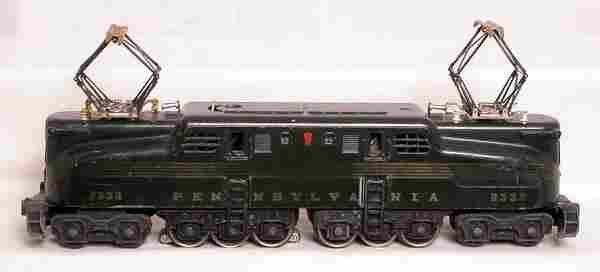 Lionel 2332 green GG1
