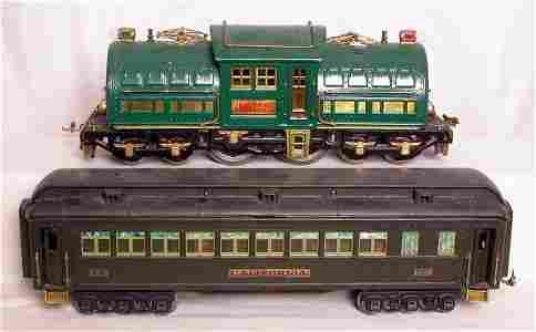 28: Lionel prewar 381E standard gauge State Set