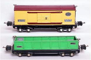Lionel prewar 814 and 812 with nickel trim