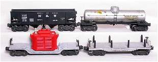 Lionel 2461 red, 3456 N&W, 2755 and 6411