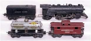 Lionel prewar 229, 02689W, 2654 and 2672