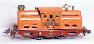Lionel prewar orange 250 locomotive
