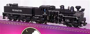 MTH 20-3023-1 WVP&P four-truck Shay #12, OB