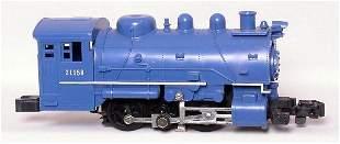 American Flyer 21158 blue 0-6-0T switcher,
