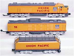 MTH 2124LP Union Pacific gas turbine 3-piece set