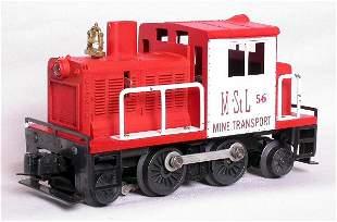 Lionel 56 M&StL mine transport switcher