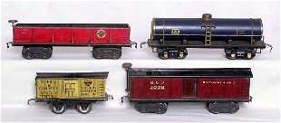 American Flyer prewar 3008, 3007, 3210 and 1110