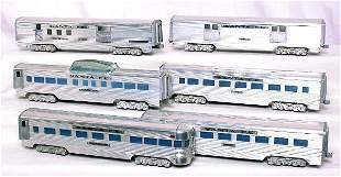 AMT Santa Fe 6-car aluminum passenger set