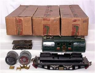 Lionel SG 380E, 428, 429 and 439 in boxes