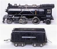 127: Lionel prewar O 262E loco and non-whistle tender