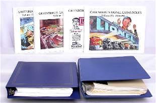 Greenberg's Lionel catalogs volumes I II III IV
