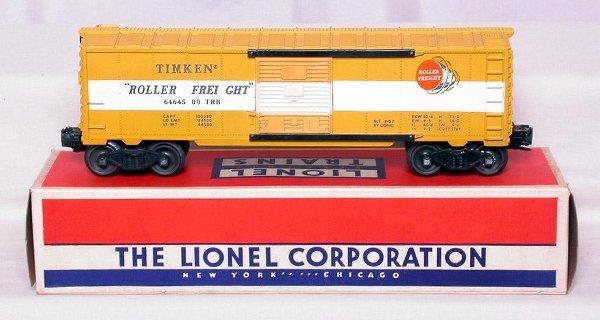 310: Lionel 6464-500 gray mold Timken in OB