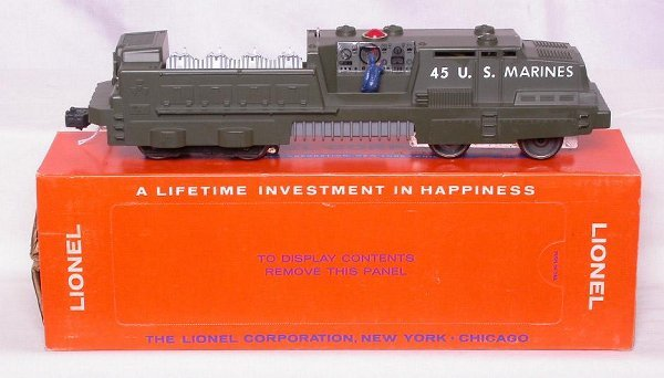 314: Minty Lionel 45 US Marine launcher in OB