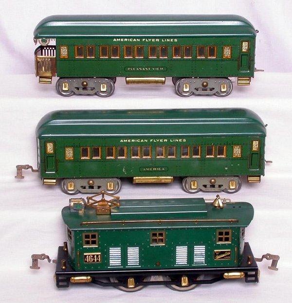 323: Lionel prewar wide gauge 1472 The Eagle boxed