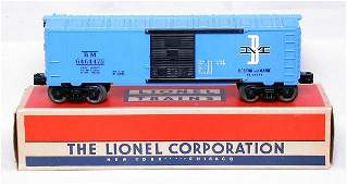 414: Mint Lionel 6464-475 B&M boxcar, OB