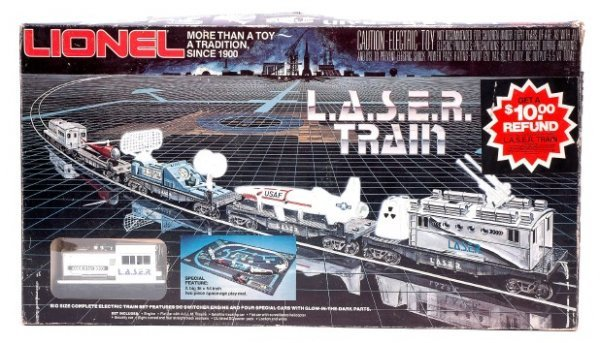 2001: Lionel LASER Train Set 1150 in Set Box