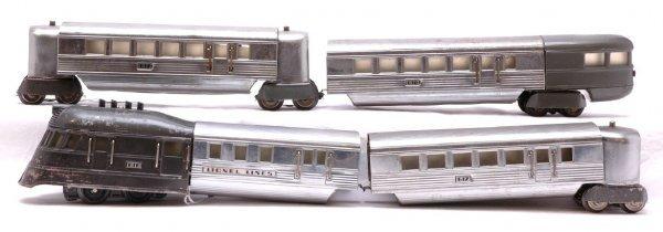2002: Lionel Flying Yankee Passenger Set