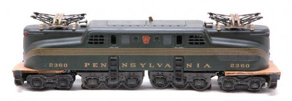 2004: Lionel 2360 Pennsylvania five stripe green GG1