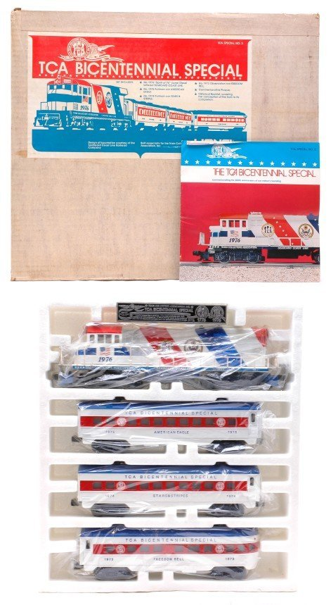 2011: Lionel TCA Bicentennial Pass Set in Set Box