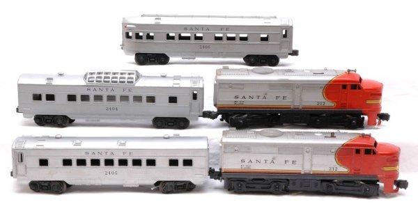 2012: Lionel Santa Fe Pass 212 AA 2404 2405 2406