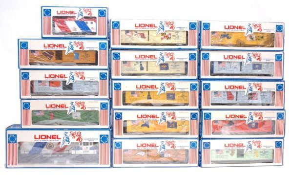 2013: Lionel Spirit of 76 Freight Set Boxed