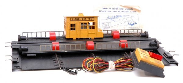2014: Lionel 350 Transfer Table with Hardware